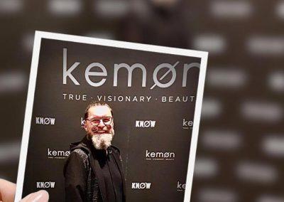 Martin Petschko bei der kemøn-Night in Madrid